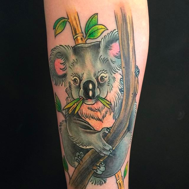 They May Be Vile Beasts in Real Life, but Koala Tattoos Are Adorable