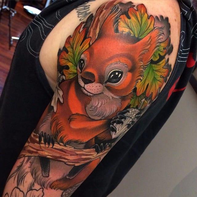 13 Crisp Animal Tattoos By Crispy Lennox