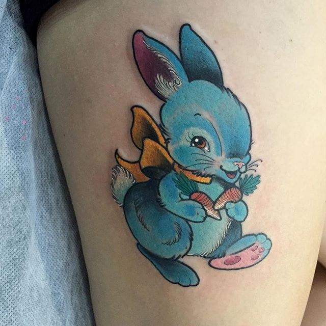 Adorable Tattoos By Kitty Dearest