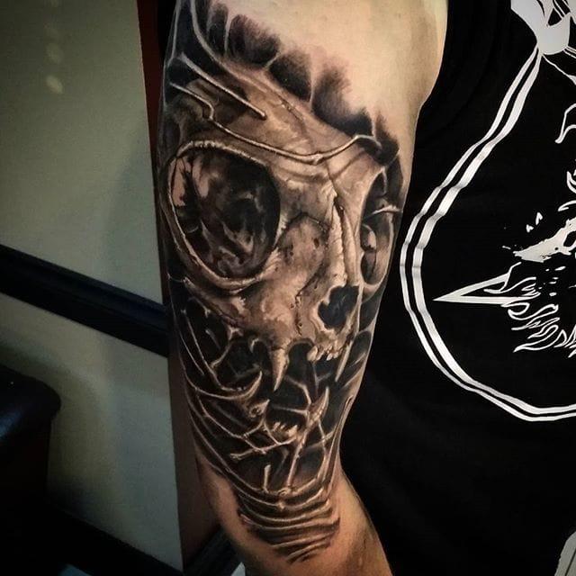 The Insane Black & Grey Realism Tattoos of Insamnia
