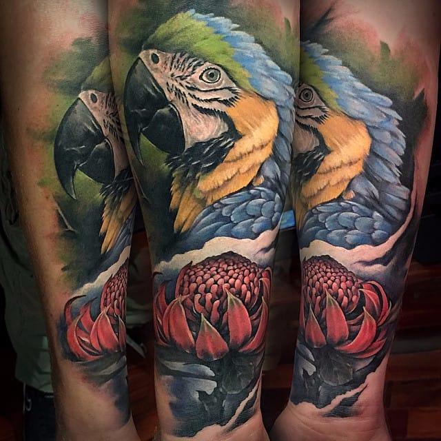 Amazing Animal Tattoos By Benjamin Laukis