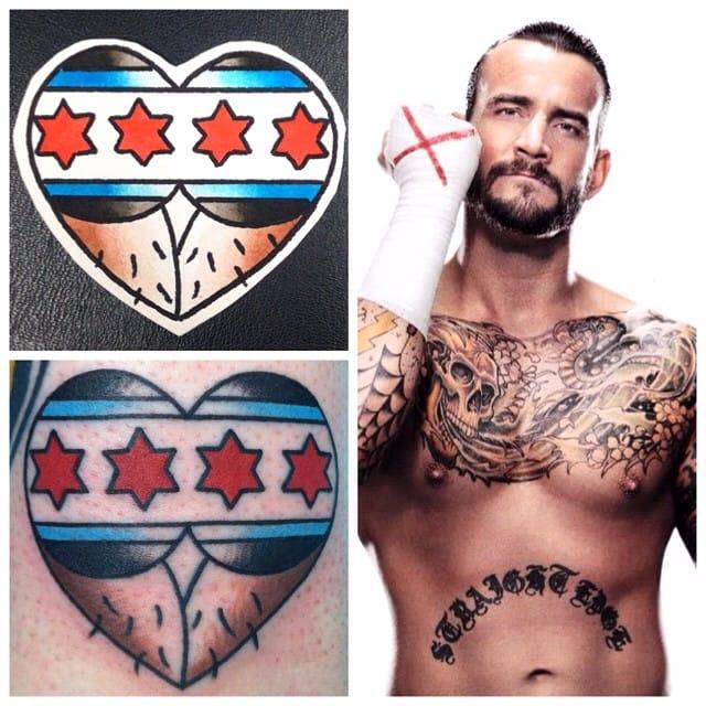 18 Wacky Wrestling Tattoos
