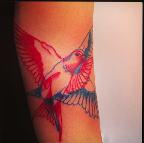 Awesome sparrow outlines. See more like this.