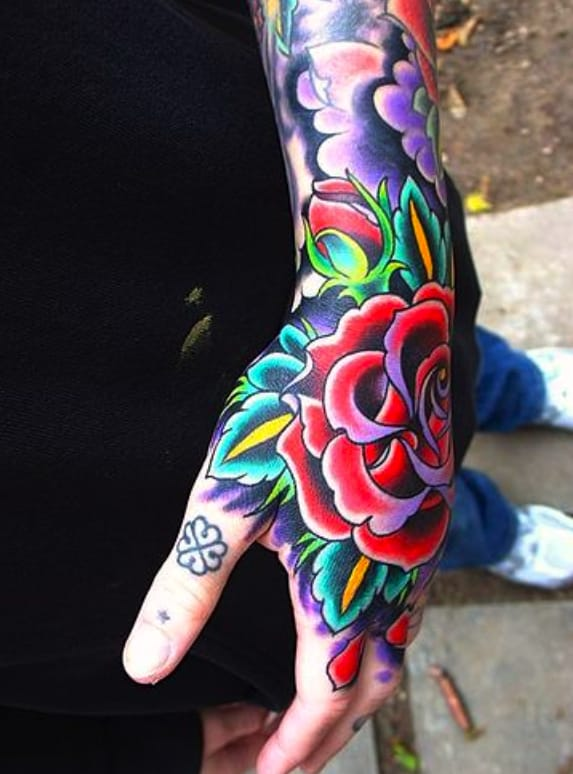 Covered In Many Colors Tattoodo