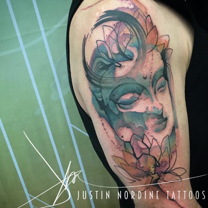 The Expressionistic Tattoos Of Justin Nordine