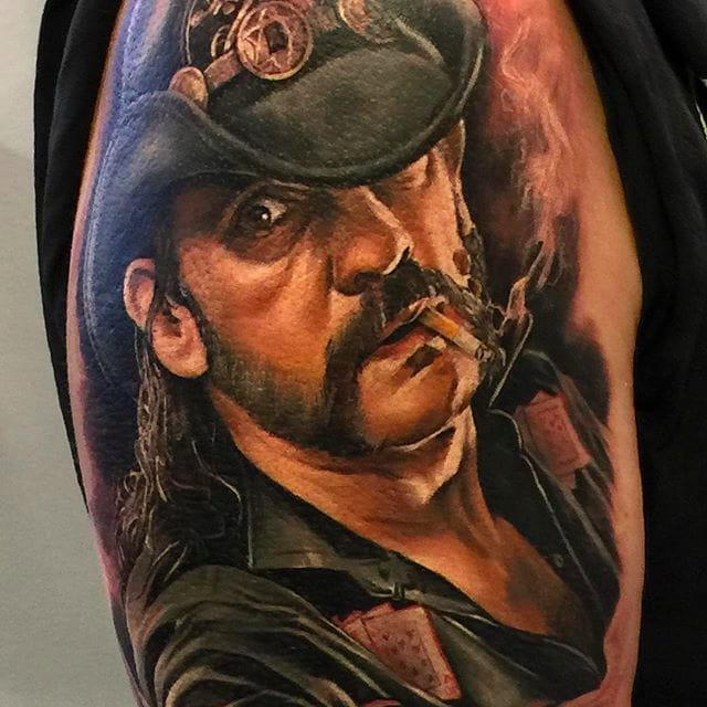 Awesome Portraits And New School Tattoos by Zhimpa Moreno