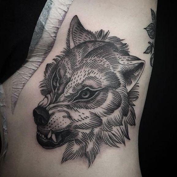 Slick Blackwork Tattoos By Alex Snelgrove