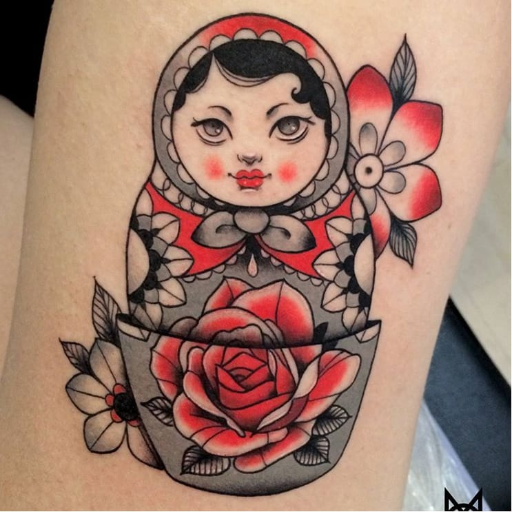 Dainty Illustrative Tattoos By Mo Mojito
