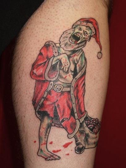 Zombie Santa is really a thing uhn?