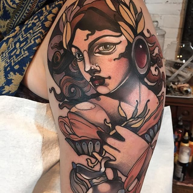 Distinguished Neo Traditional Tattoos By Gia Rose