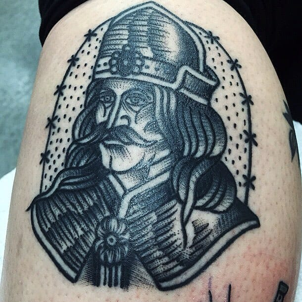 Nate Kemr's Bold and Bizarre Black Tattoos
