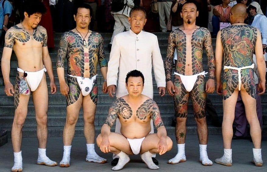 Yakuza tattoo bodysuits