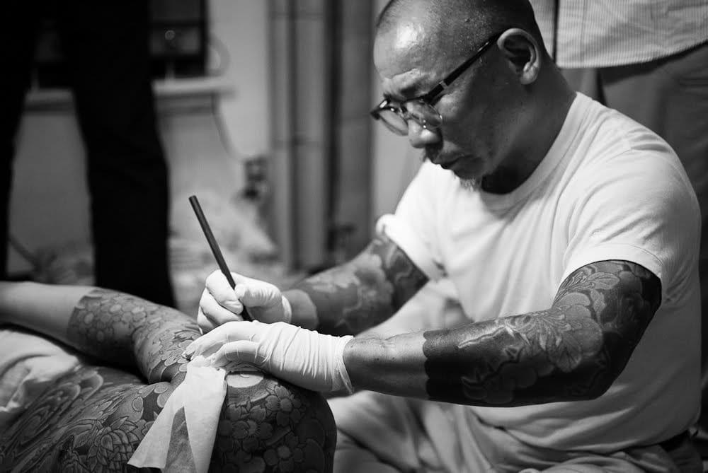 Yakuza tattoo artist Nakamuratoshikazu