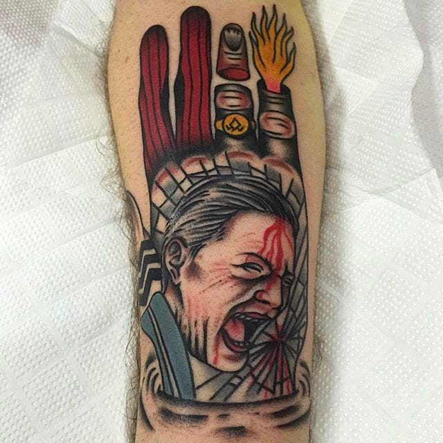 Awesome Traditional Tattoos By Tattoo Rom