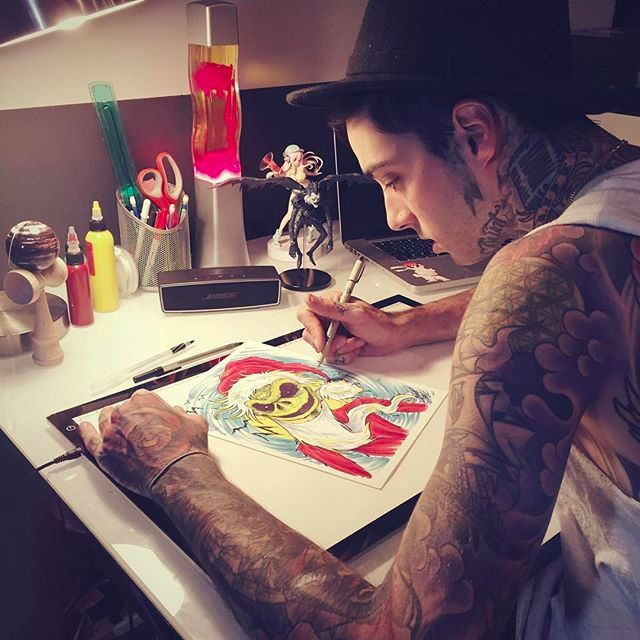multitalented tattoo artist romeo lacoste and his diverse