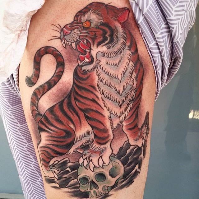 Go Full Traditional With These Brandon Amato Tattoos!