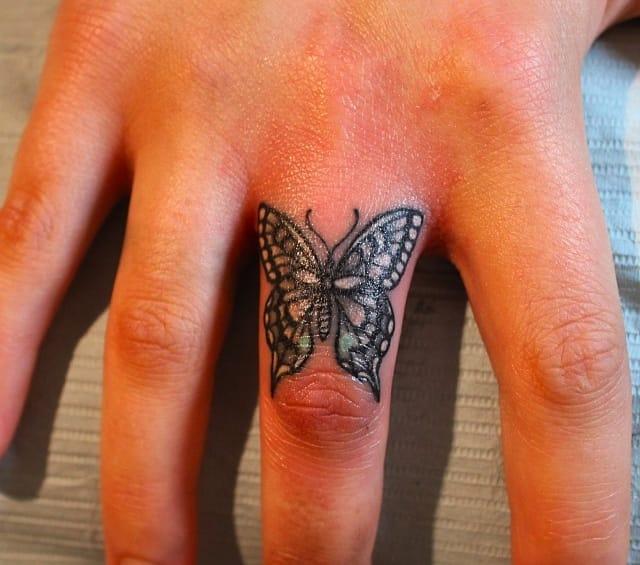 Butterfly, artist Elizabeth Markov.