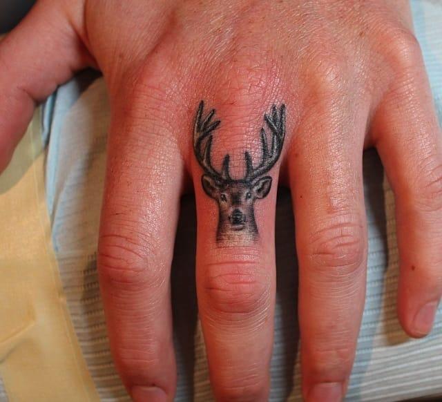 Love this Bambi finger tattoo, Bang Bang