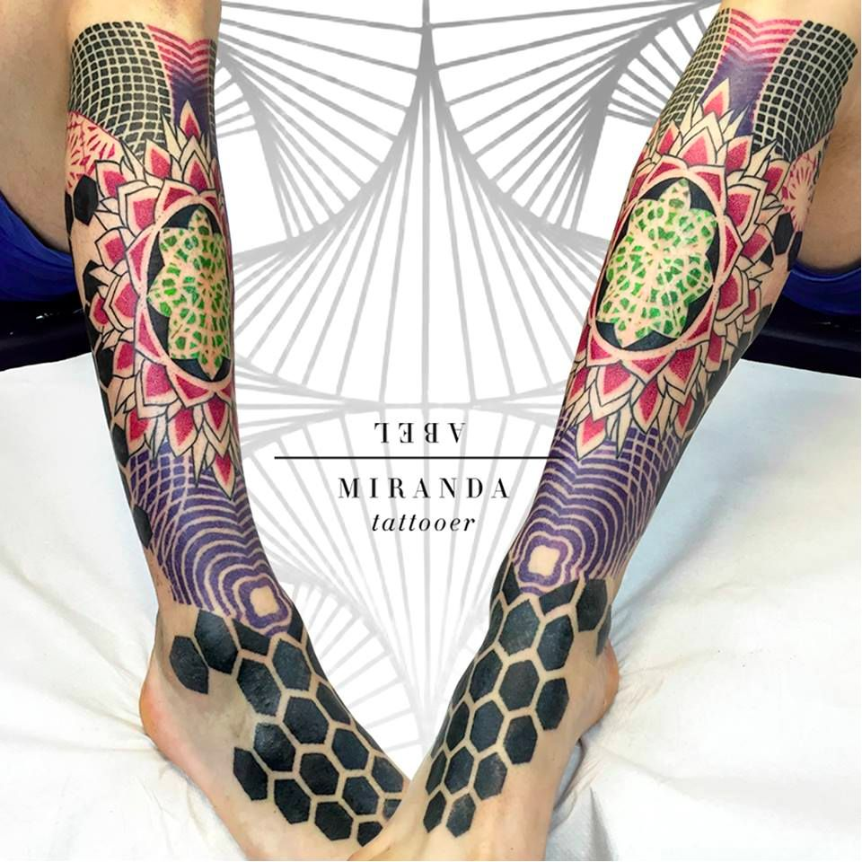 Abstract Structures: The Tattoos Of Abel Miranda