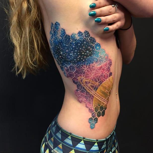 Infinite Geometry: The Tattoos Of Nick Friederich