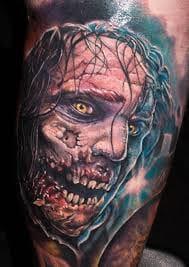 Done by Julian Siebert, Corpsepainter at Tattoo and Piercing Munich/Germany.