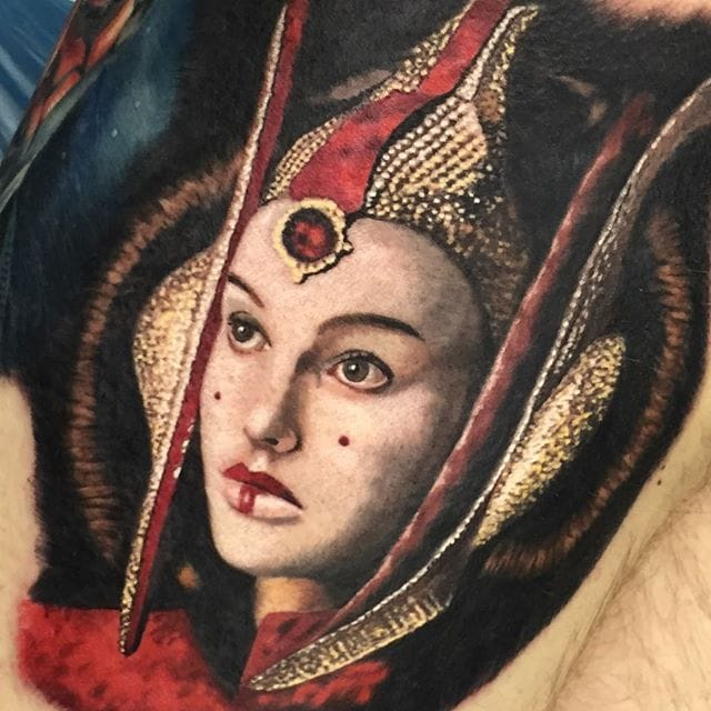 Exceptional Color Portrait Tattoos By Chad Jacob
