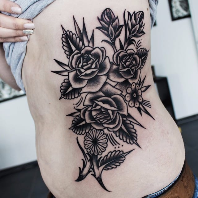 Immaculate Traditional Tattoos by Sascha Friederich