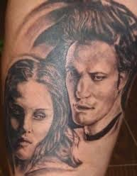 What is wrong with Edwards Nose in this piece? Twilight fail tattoo