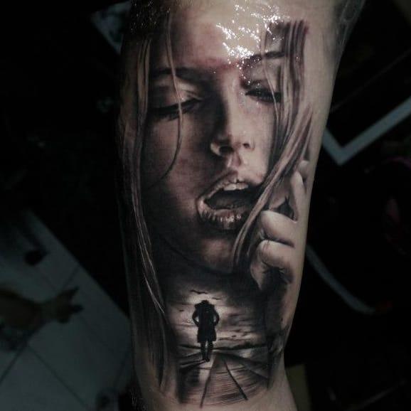 15 Tatuagens Sensacionais Em Realismo Preto e Cinza De Kostas Proki