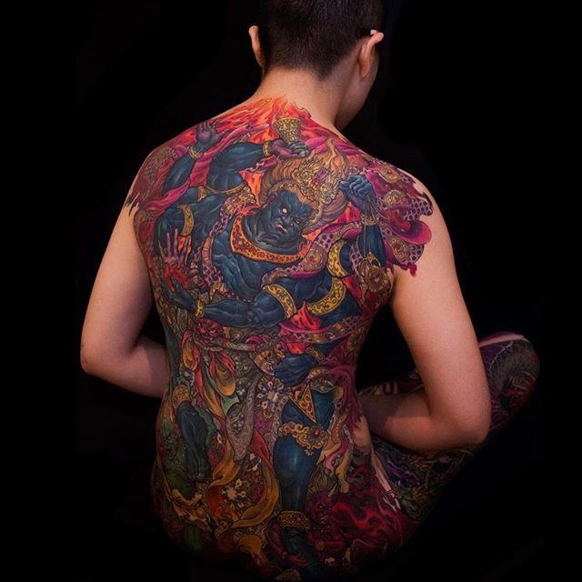 Magnificent Neo Oriental Tattoos By Tony Hu