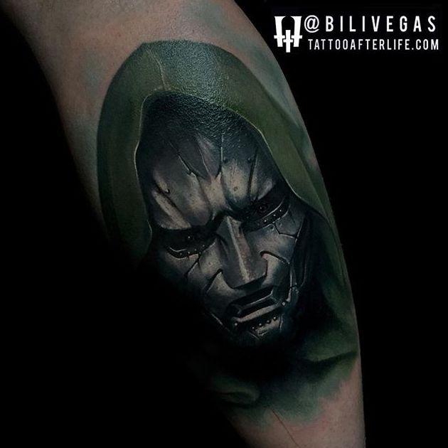 8 Commanding Doctor Doom Tattoos