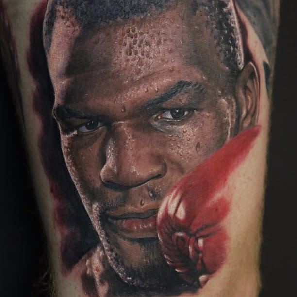 11 Ferocious Mike Tyson Tattoos