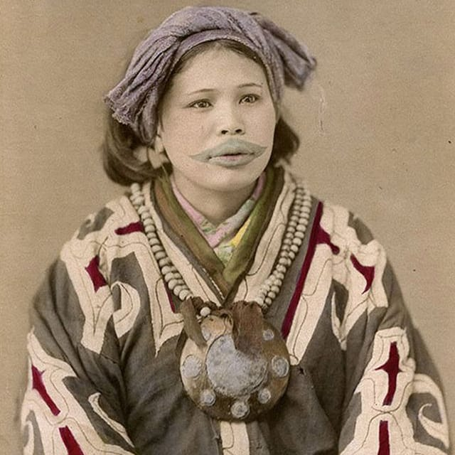 Tattoo History: The Tattooed Ainu Women of Japan