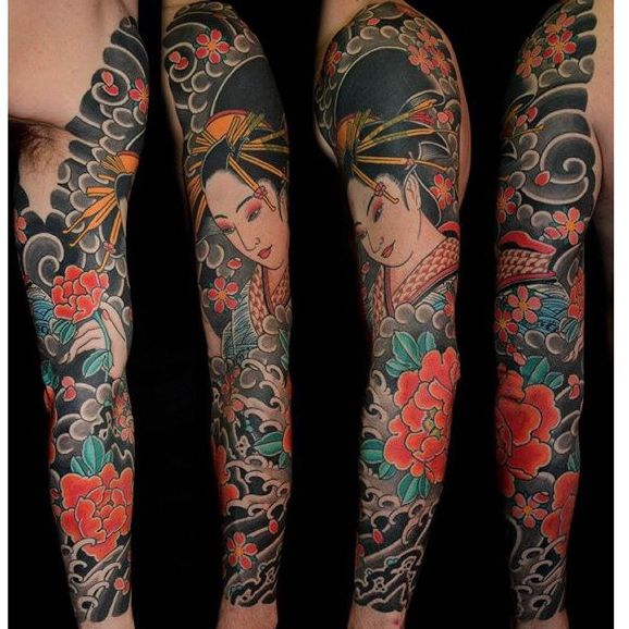 Rory Pickersgill's Awe-Inspiring Traditional Japanese Tattoos