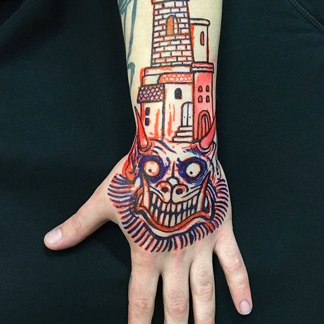 From Mind to Skin: Awesome Freehand Tattoos by Simone Ruco