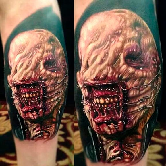 Killer Hellraiser Tattoos To Adorn Your Mortal Flesh