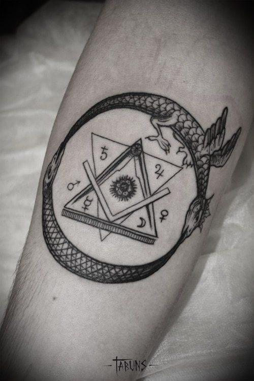 Tattoo by Alex Tabuns