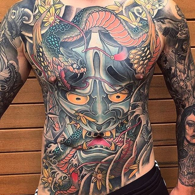 Animated Japanese Tattoos by Ryan Ussher