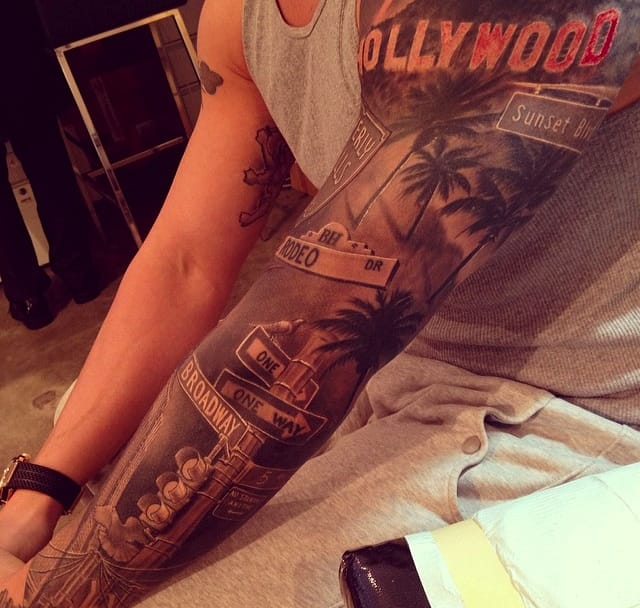 Hollywood sleeve by Bang Bang.