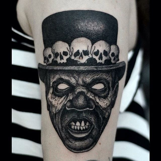 Enchanting and Dark Blackwork Tattoos by Bartosz Wodja