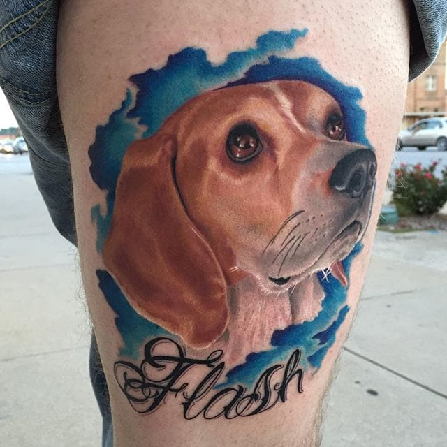 14 Beautiful Beagle Tattoos