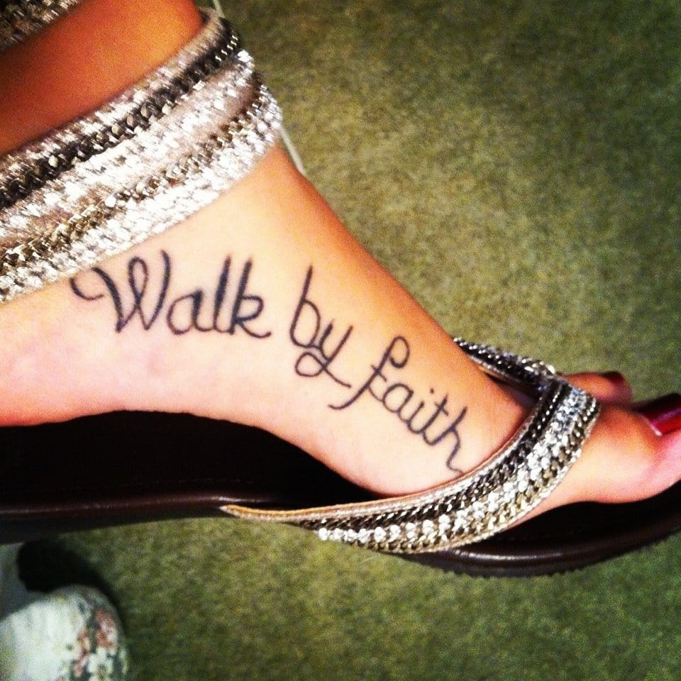 bible quote tattoos on foot - photo #20