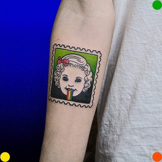 Ultra Eccentric Graphic Tattoos By Artist Roman Shcherbakov