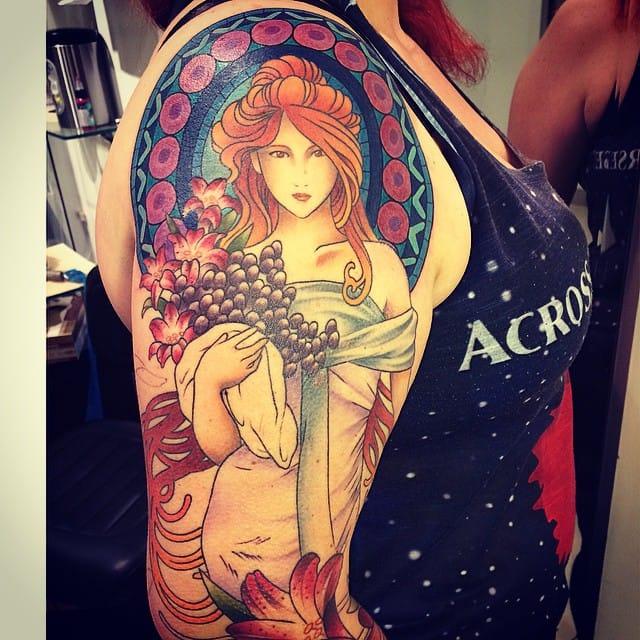 20 Tatuagens Da Espetacular Artista Luiza Fortes