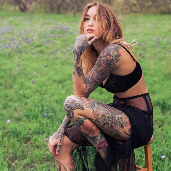 #TattoodoBabes Of The Week: Michelle Maron, Sara Mills & More