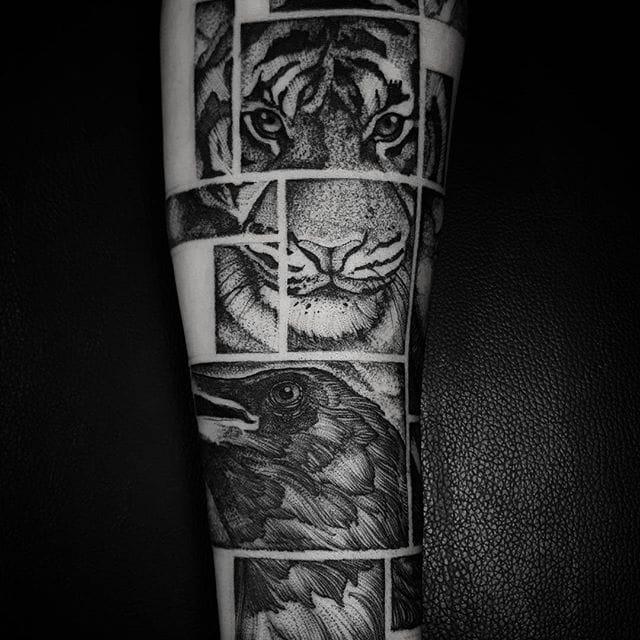 The Intense Blackwork Tattoos of Felipe Kross