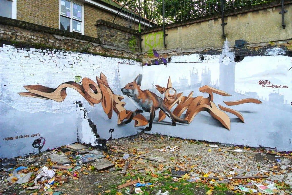 Foxy mural...