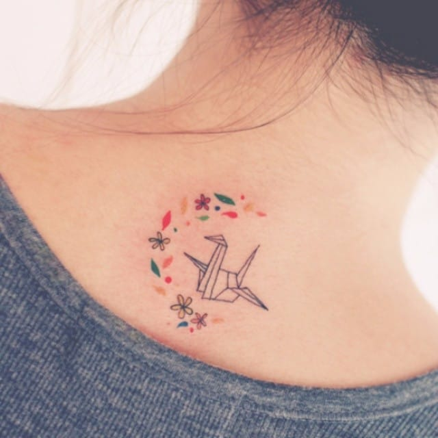 The Delicate South Korean Style Tattoos Of Seoeon