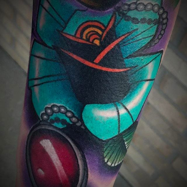 Awesome Neo Traditional Tattoos by Emilio Saylor