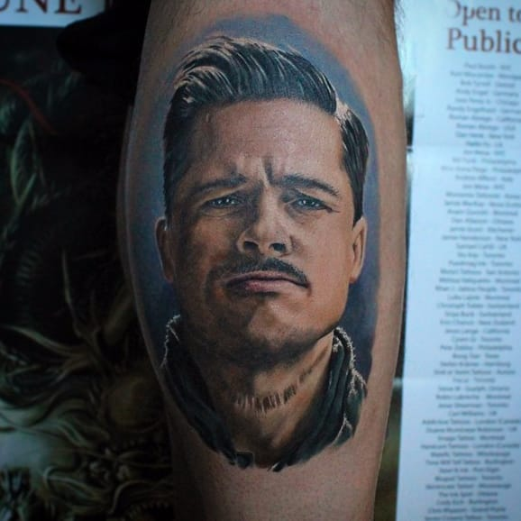 10 Brazen Aldo Raine Tattoos